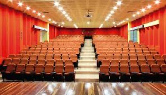 Sala de teatro desde el actor